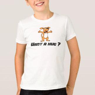 Queira um abraço? camiseta