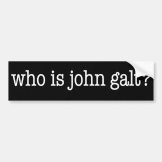 quem é galt de john? adesivo para carro