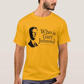 Quem é Gary Johnson? Camisa