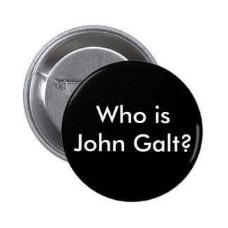 Quem é John Galt? botão Bóton Redondo 5.08cm