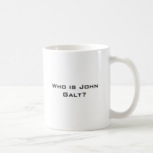 Quem é John Galt? Canecas