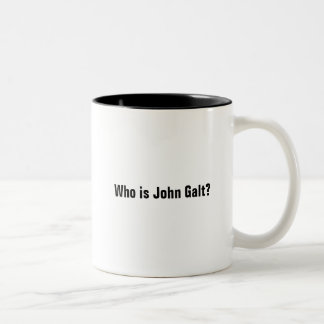 Quem é John Galt? Caneca Dois Tons