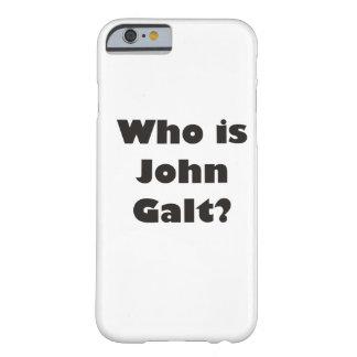 Quem é John Galt? Capa Barely There Para iPhone 6