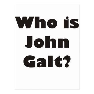 Quem é John Galt? Cartao Postal