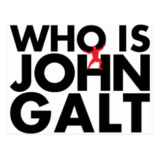 Quem é John Galt Cartões Postais