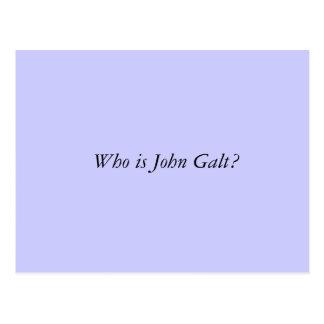 Quem é John Galt? Cartão Postal