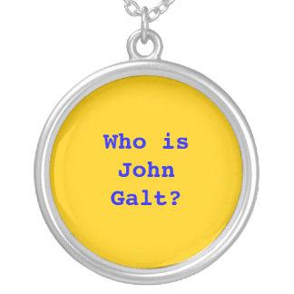 Quem é John Galt? Bijuterias