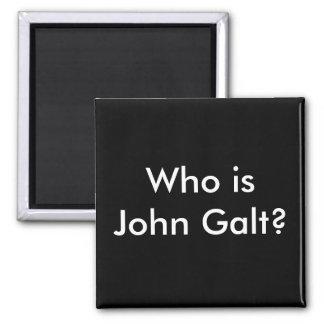 Quem é John Galt? ímã Ímã Quadrado