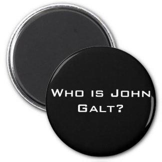 Quem é John Galt? Ímã Redondo 5.08cm