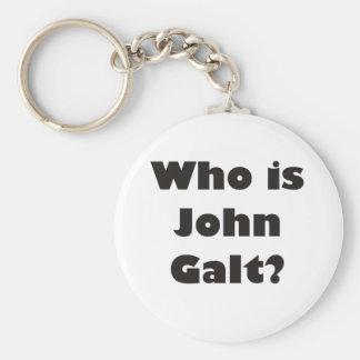 Quem é John Galt? Chaveiro