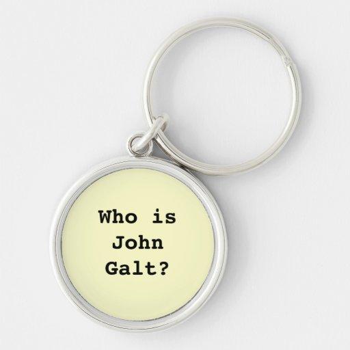 Quem é John Galt? Chaveiros