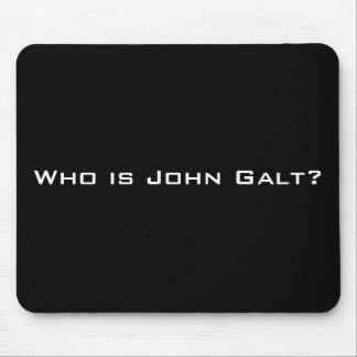 Quem é John Galt? Mouse Pads