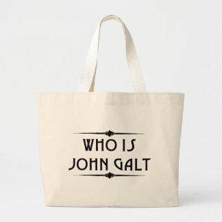 Quem é John Galt Totebag Sacola Tote Jumbo