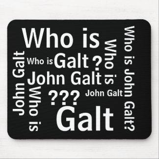 Quem é tapete do rato de John Galt Mouse Pads