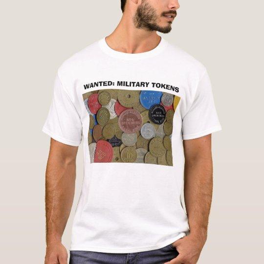 QUERIDO: SÍMBOLOS MILITARES - t-shirt branco