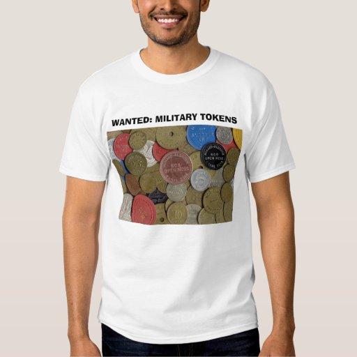QUERIDO: SÍMBOLOS MILITARES - t-shirt branco cláss
