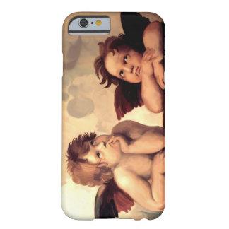 Querubins Raffaelo Sanzio de Sistine Madonna Capa Barely There Para iPhone 6