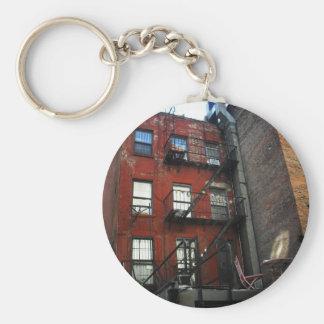 Quintal da cidade do alfabeto, East Village, NYC Chaveiro