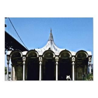 Quiosque do palácio de Beylerbey - Turquia Convite Personalizados