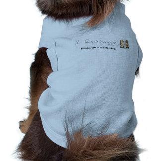 Rachael Rossman pensa que eu sou uma camiseta de Camisa Sem Mangas Para Cachorro