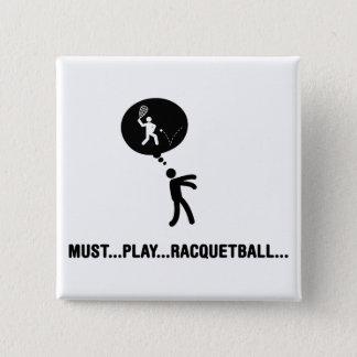 Racquetball Bóton Quadrado 5.08cm