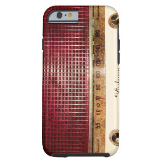 Rádio retro capa tough para iPhone 6