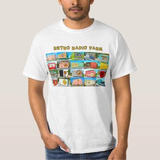Rádios retros camisetas