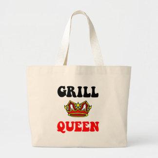 Rainha da grade bolsa para compras