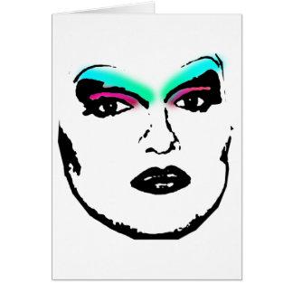 rainha de arrasto cartão
