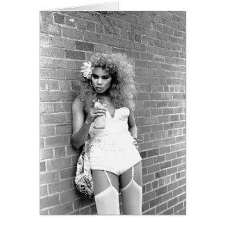 Rainha de arrasto NYC. 1989 Cartão