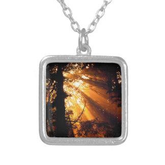 Raios de sol místicos das árvores olímpicos bijuteria personalizada