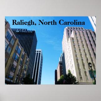 RALIEGH, poster de NORTH CAROLINA