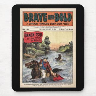 Rancho cómico ocidental de série bravo e corajoso