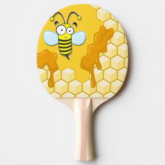 Raquete De Ping Pong abelha