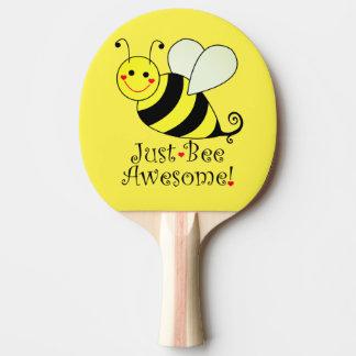 Raquete De Ping Pong Apenas o amarelo impressionante da abelha Bumble a