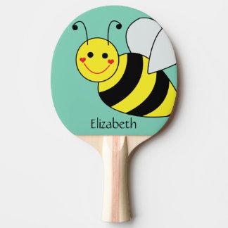Raquete De Ping Pong Bonito Bumble a abelha personalizada