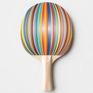 Raquete De Ping Pong Cores do arco-íris