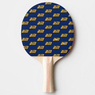 Raquete De Ping Pong nome da tipografia & teste padrão personalizados