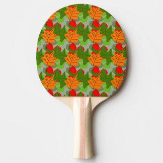 Raquete De Ping Pong Pá de Pong do sibilo das folhas de outono