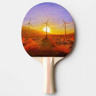 Raquete De Ping Pong Psto pelo vento
