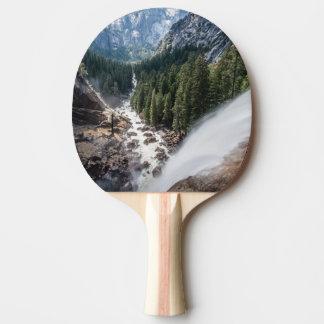 Raquete De Ping-pong Queda de Vernall e fuga da névoa