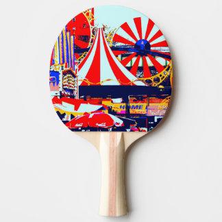 Raquete De Ping-pong Sibilo Pong no vermelho