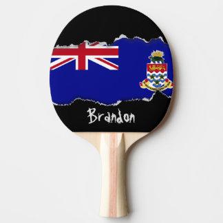 Raquete De Tênis De Mesa Bandeira de Cayman Islands
