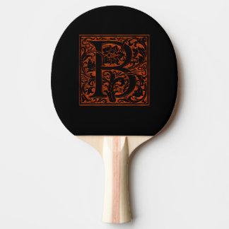 Raquete De Tênis De Mesa Chique do monograma B