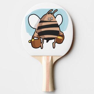 Raquete De Tênis De Mesa Desenhos animados da abelha