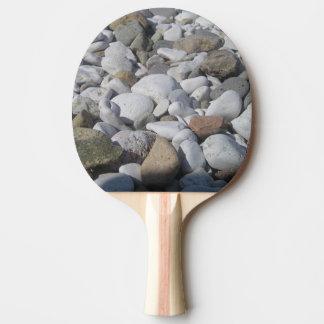 Raquete De Tênis De Mesa pá de Pong do sibilo das pedras
