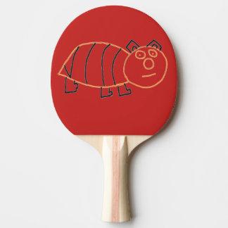 Raquete De Tênis De Mesa Pá de Pong do sibilo do urso da abelha