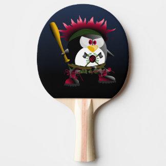 Raquete De Tênis De Mesa Pá vermelha de Pong do sibilo do pinguim da