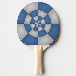Raquete Para Ping Pong Abstrato náutico do azul