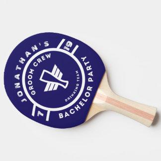 Raquete Para Ping-pong Marcagem com ferro quente do despedida de solteiro